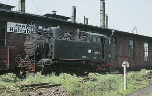 99 1715-4 in Freital Hainsberg, Mai 1973, Foto: H. Weigel